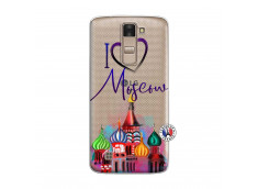 Coque Lg K8 I Love Moscow