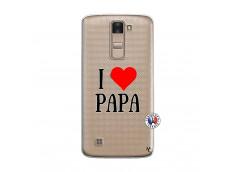 Coque Lg K8 I Love Papa