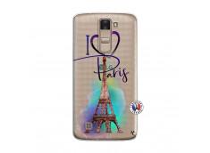 Coque Lg K8 I Love Paris