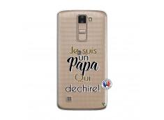 Coque Lg K8 Je Suis Un Papa Qui Dechire