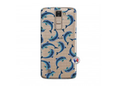 Coque Lg K8 Dolphins
