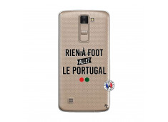 Coque Lg K8 Rien A Foot Allez Le Portugal