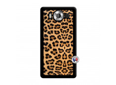 Coque Microsoft Lumia 950 Leopard Style Noir