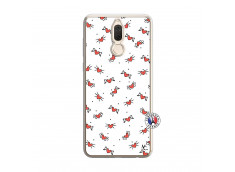 Coque Huawei Mate 10 Lite Cartoon Heart Translu