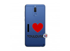 Coque Huawei Mate 10 Lite I Love Toulouse