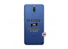 Coque Huawei Mate 10 Lite Oh Putain C Est L Heure De L Apero
