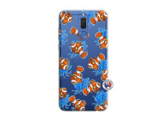 Coque Huawei Mate 10 Lite Poisson Clown