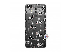 Coque Huawei Mate 10 PRO Cow Pattern