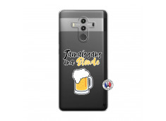 Coque Huawei Mate 10 PRO Jamais Sans Ma Blonde