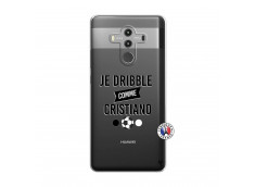 Coque Huawei Mate 10 PRO Je Dribble Comme Cristiano