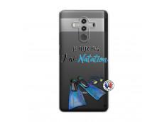 Coque Huawei Mate 10 PRO Je Peux Pas J Ai Natation