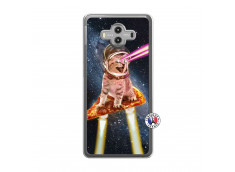 Coque Huawei Mate 10 Cat Pizza Translu