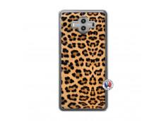 Coque Huawei Mate 10 Leopard Style Translu