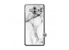 Coque Huawei Mate 10 White Marble Translu