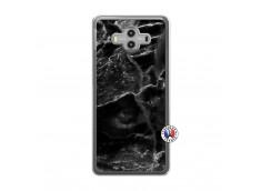 Coque Huawei Mate 10 Black Marble Translu