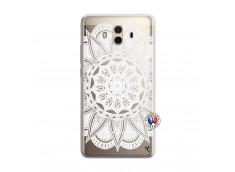Coque Huawei Mate 10 White Mandala