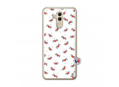 Coque Huawei Mate 20 Lite Cartoon Heart Translu