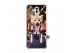 Coque Huawei Mate 20 Lite Cat Nasa Translu