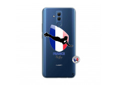 Coque Huawei Mate 20 Lite Coupe du Monde de Rugby-France