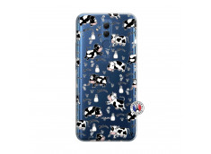 Coque Huawei Mate 20 Lite Cow Pattern