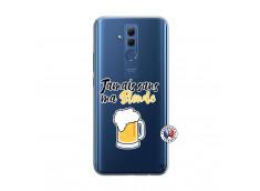 Coque Huawei Mate 20 Lite Jamais Sans Ma Blonde