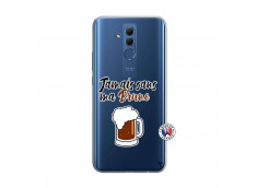 Coque Huawei Mate 20 Lite Jamais Sans Ma Brune