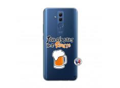 Coque Huawei Mate 20 Lite Jamais Sans Ma Rousse