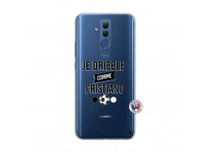 Coque Huawei Mate 20 Lite Je Dribble Comme Cristiano