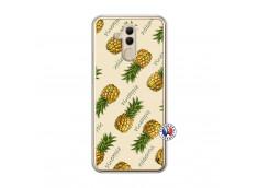 Coque Huawei Mate 20 Lite Sorbet Ananas Translu