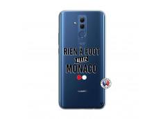 Coque Huawei Mate 20 Lite Rien A Foot Allez Monaco