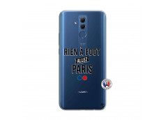 Coque Huawei Mate 20 Lite Rien A Foot Allez Paris