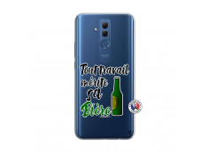 Coque Huawei Mate 20 Lite Tout Travail Merite Sa Biere