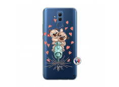 Coque Huawei Mate 20 Lite Puppies Love