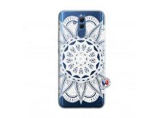 Coque Huawei Mate 20 Lite White Mandala