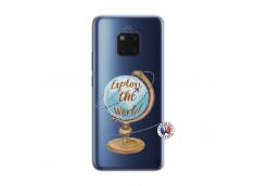 Coque Huawei Mate 20 PRO Globe Trotter