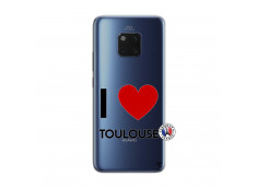 Coque Huawei Mate 20 PRO I Love Toulouse