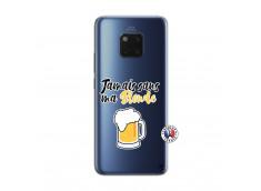 Coque Huawei Mate 20 PRO Jamais Sans Ma Blonde