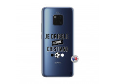 Coque Huawei Mate 20 PRO Je Dribble Comme Cristiano
