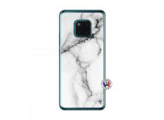 Coque Huawei Mate 20 PRO White Marble Translu