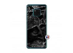 Coque Huawei Mate 20 PRO Black Marble Translu
