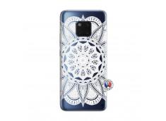 Coque Huawei Mate 20 PRO White Mandala