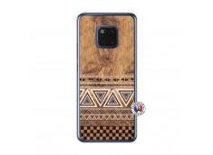 Coque Huawei Mate 20 Aztec Deco Translu