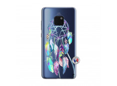 Coque Huawei Mate 20 Blue Painted Dreamcatcher