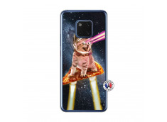 Coque Huawei Mate 20 Cat Pizza Translu
