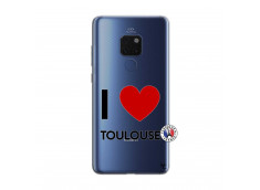 Coque Huawei Mate 20 I Love Toulouse