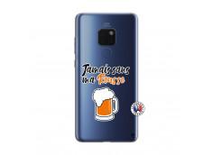 Coque Huawei Mate 20 Jamais Sans Ma Rousse
