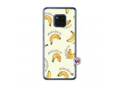 Coque Huawei Mate 20 Sorbet Banana Split Translu