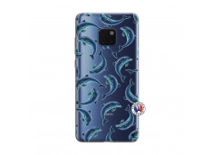 Coque Huawei Mate 20 Dolphins