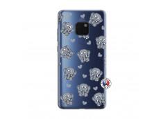 Coque Huawei Mate 20 Petits Elephants
