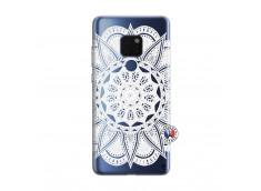 Coque Huawei Mate 20 White Mandala